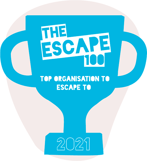 Top 100 companies to escape to in 2021